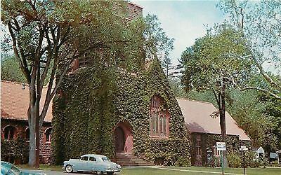 Simsbury Ct Simsbury Methodist Church 1960 Postcard