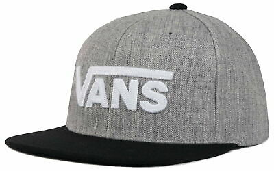 VANS Drop V II Snapback In Heather Grey/Black