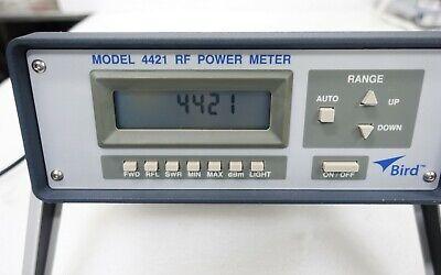Bird 4421 Rf Power Meter W Ieee-488 Gpib Rs-232 Interface