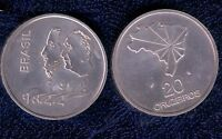Brasile 20 Cruzeiros ,indipendenza, 1978 Argento 900/1000 Mrm -  - ebay.it