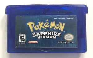 Pokemon version sapphire. Game boy advance