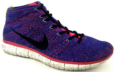low priced 29cfd 83ef8 NIKE Free Flyknit Chukka Mercurial Collection Shoes Mens US 13 Great  Condition