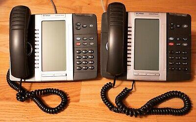 2x Lot Mitel 5330e Minet Sip Voip Poe Gigabit Ip Phone
