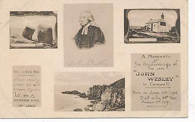 POSTCARD  PEOPLE   John  Wesley