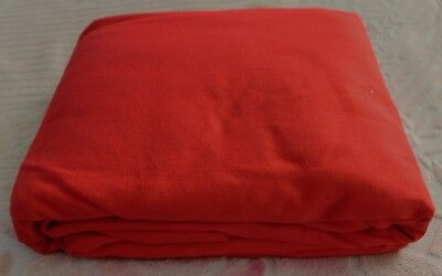 NEW FULL SIZE FUTON MATTRESS COVER . Red color, 3 SIDE zippe