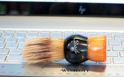 """Vintage Fuller Shaving Brush - Engraved """"Dad""""  Catalin Handle"""