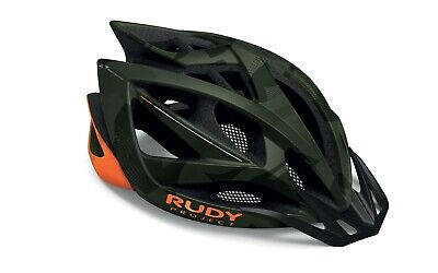Casco Bici Rudy Project Airstorm MTB Olive Green - Orange Camo Matte...
