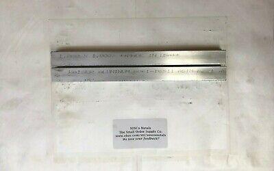 2 Pieces Of 1 X 1 6061 T6511 Square Aluminum Flat Bar 12 Long Stock