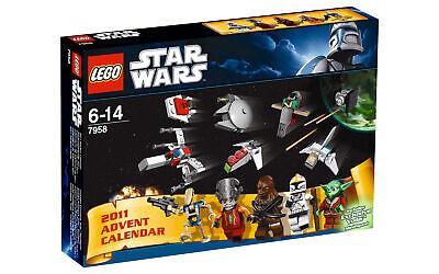 Lego 7958 Star Wars Advent Calendar 2011 ** SANTA YODA ** Sealed Box **