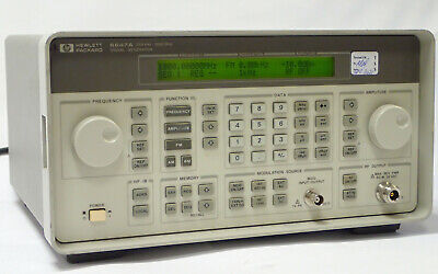 Hp Agilent 8647a Signal Generator 250khz 1000mhz W Option 1e5115-220v Tested