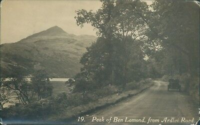 Real photo ben lomond from ardlui road 1925 G&S series