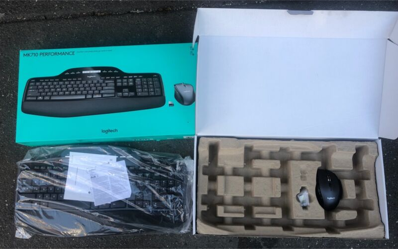 Logitech MK710 Performance Cordless Keyboard & Mouse | Computer ...