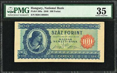 UNC Hungary 100 Forint 1995 P-174c