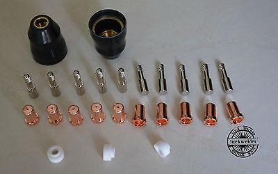 25pcs Thermal Dynamics Pchm-35 Stak Pak Plasma Cutter Part 9-6506 9-6500 Tip