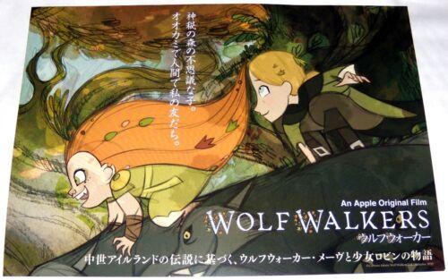 WOLFWALKERS Tomm Moore Ross Stewart Ireland wolves animation JAPANESE CHiRASHi