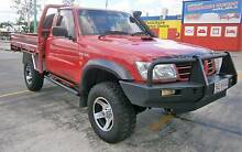 2005 Nissan Patrol 4.2l Turbo Diesel Intercooled 4x4 Cab Chassis Kallangur Pine Rivers Area Preview