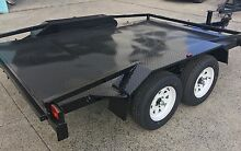 BUGGY TRAILER /MINI CAR TRAILER 10x6 NEW TYRES & RIMS! Logan Area Preview