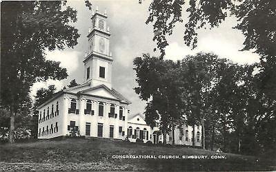 Simsbury Connecticut Congregational Church C1914