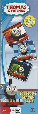 NEW!  Thomas & Friends Memory Match Card Game (72 Cards) Matching Game