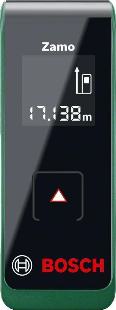 Bosch DIY Laser Entfernungsmesser Zamo 2. Generation, 2 x AAA Batterien NEU&OVP