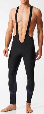 Adidas Black Bib - adidas Response Warm Mens Cycling Bib Tights - Black