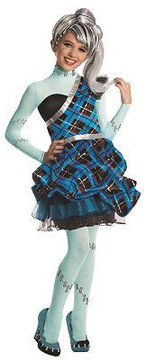Mädchen Kostüme Monster High (Monster High Kostüm Frankie Stein 1600 Fasching Mädchen Gr.L Lizenzware , (K))