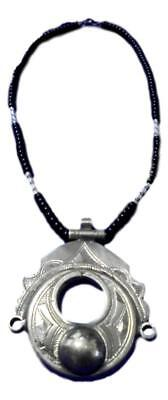 Handcrafted African Tuareg Berber Necklace Niger Ethnic Tribal Jewelry
