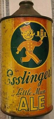 Esslingers Little Man Ale Cone Top 1 qt.