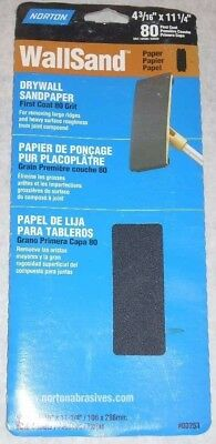 15 Norton 4 316 X 11 14 Drywall Sandpaper Sheets 80g Part 03253