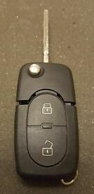 VW VOLKSWAGEN 2 BUTTON REMOTE CONTROL KEY 1J0 959 753A (BRAND NEW & GENUINE)
