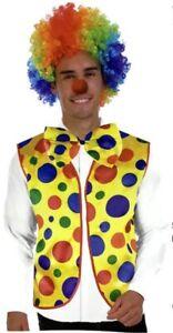 Adult clown costume funny circus rainbow Melbourne CBD Melbourne City Preview