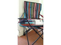 Tent 2 person and 1 camping chair