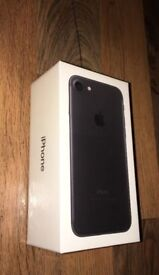 Iphone 7 Brand New (Sealed) and Unlocked