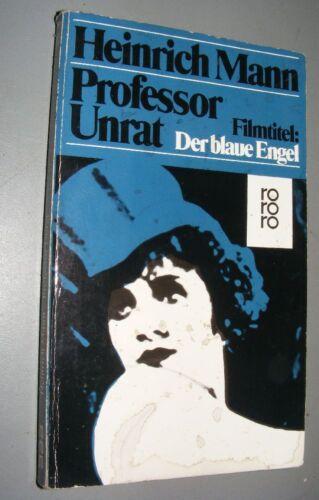 Heinrich MANN (1871- 1950): Professor Unrat 1986 Taschenbuch Weltliteratur