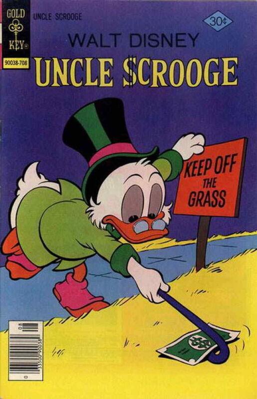 UNCLE SCROOGE #143 Fine, Walt Disney
