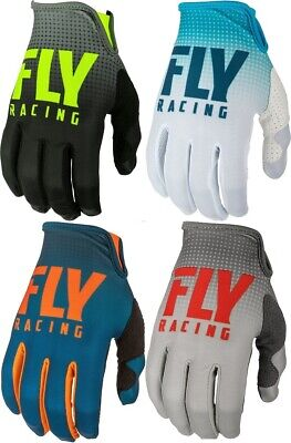Mx Riding Gloves - Fly Racing 2019 Lite Riding Gloves MX/ATV/BMX/MTB Adult Youth All Sizes