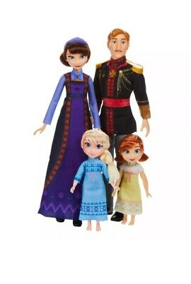 Disney Frozen 2 Arendelle ROYAL FAMILY 4-Doll Exclusive Set NIB/Sealed
