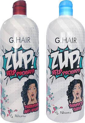 G HAIR Zup Keratin Erwachsener Lockiges Haar Behandlung Haarglättungen