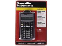 CFA *BRAND NEW* Texas Instrument Financial Calculator