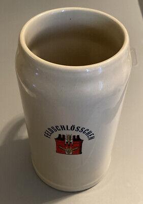 Feldschlosschen Beer Stein 1 Liter