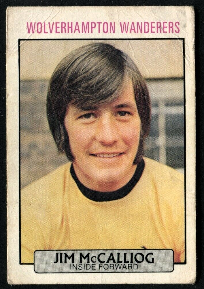 WOLVES A/&BC-FOOTBALL 1971 PURPLE BACK DYK-#035 BOBBY GOULD