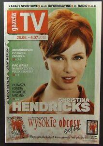 CHRISTINA HENDRICKS mag.FRONT cover, Poland Jim Morrison The Doors - europe, Polska - Zwroty są przyjmowane - europe, Polska