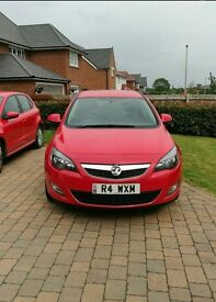 Vauxhall Astra Excite 2011 1.4vvt