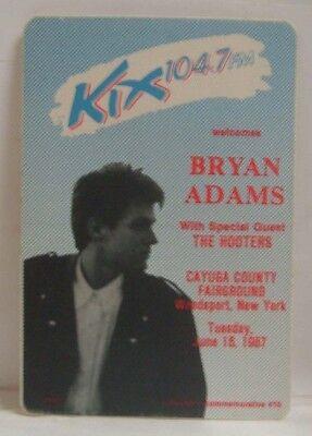 BRYAN ADAMS - ORIGINAL TOUR CONCERT CLOTH BACKSTAGE PASS