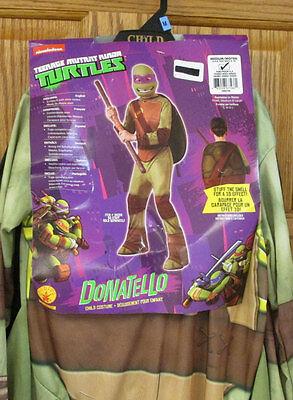 Boys Halloween Costume Size Medium Teenage Mutant Ninja Turtles Donatello NOS