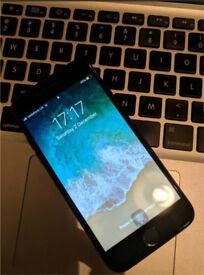 iPhone 7 - Jet Black - 128GB - Vodafone Lebara