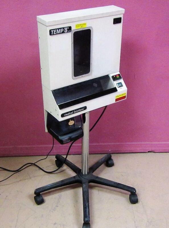 Med Solutions Temp 3 OR Fluid Warming System IV Irrigation Bag Warmer w/Printer