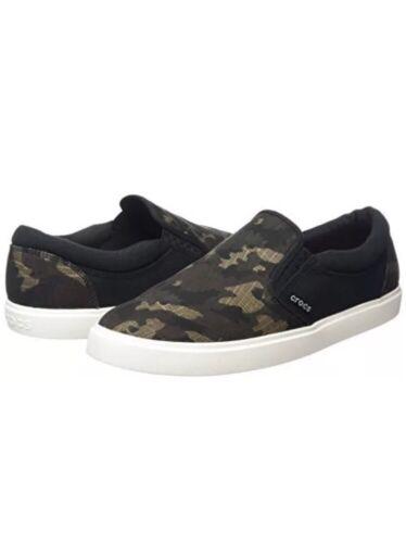 *New* Crocs CitiLane Graphic Slipon Men's Size 8 Sneaker C