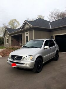2002 Mercedes ml320 must sell asap!