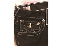 True religion black jeans (real)